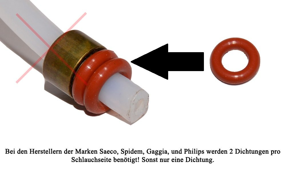 Schlauchdichtung für 4mm Druckschlauch